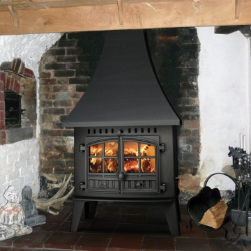 Hunter Herald Inglenook Stove Low Output Flames Co Uk